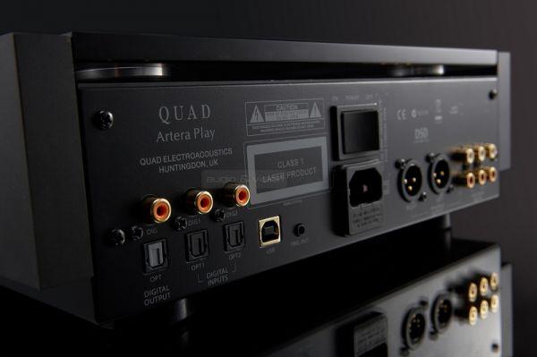 QUAD Artera Play CD-lejátszó és előfok hátlap