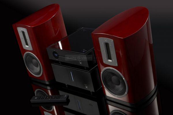 QUAD Artera Stereo és Artera Play valamint QUAD Z-2 hangfal