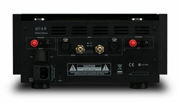 QUAD Artera Stereo sztereó végerősítő hátlap
