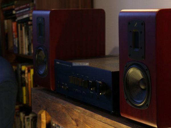Quad S-2 hangfal és Yamaha A-S801 hifi erősítő