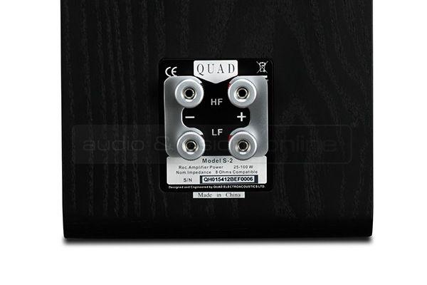 Quad S-2 hangfal csatlakozó