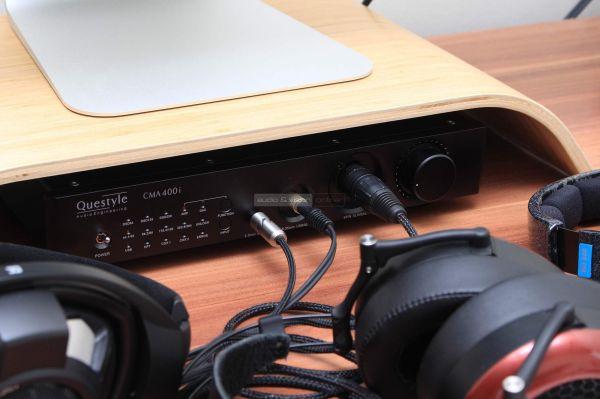 Questyle CMA400i fejhallgató erősítő