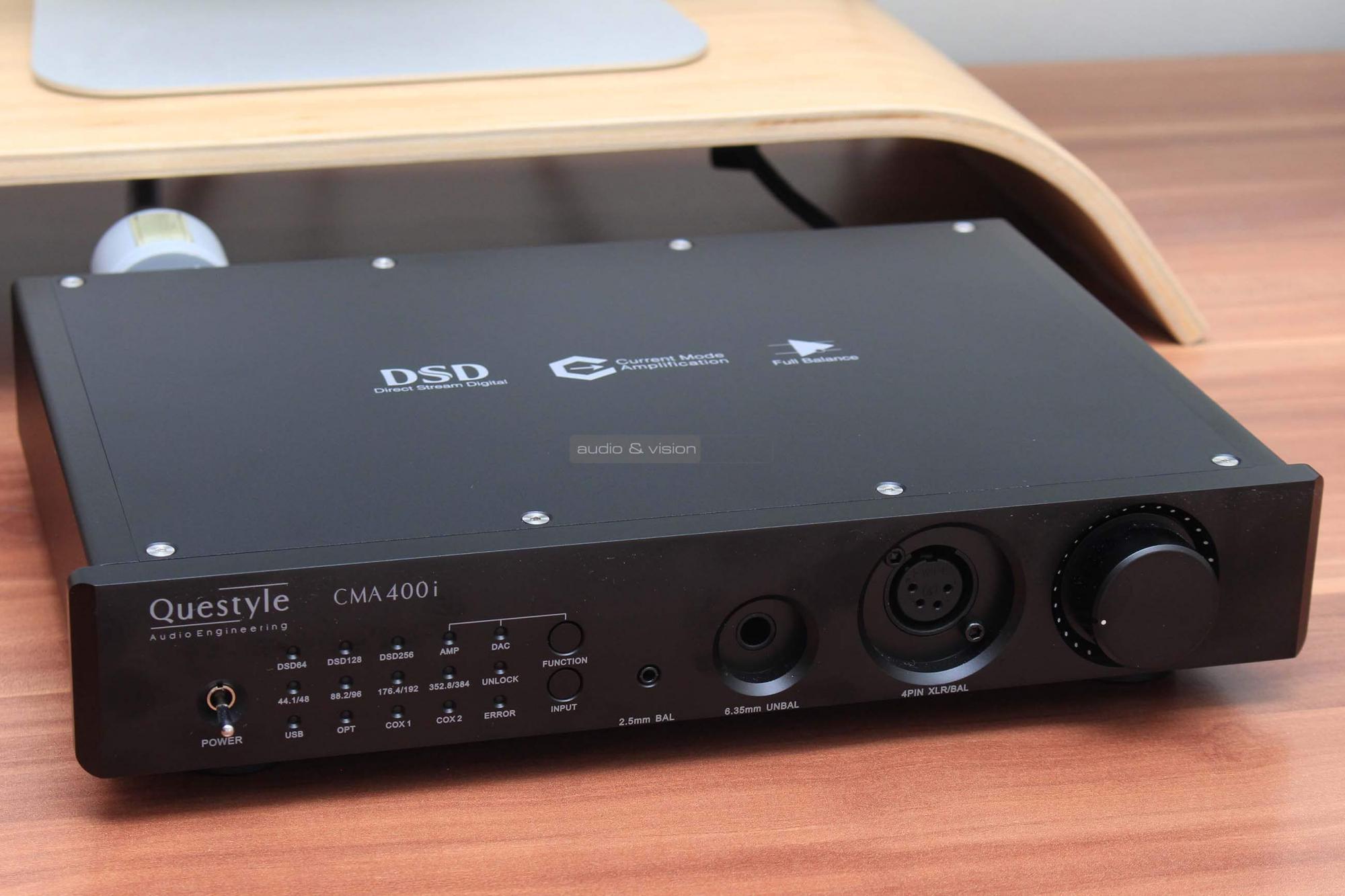 Questyle CMA400i DAC és fejhallgató erősítő teszt