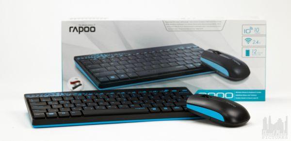 Rapoo 8000 billentyűzet és egér