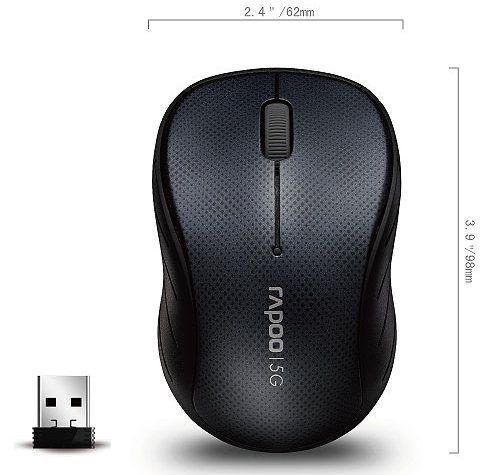 Rapoo 3000P vezetéknélküli optikai egér