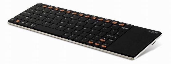 Rapoo E2700 vezetéknélküli multimédia touchpad billentyűzet