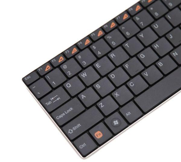 Rapoo E9080 vezetéknélküli touchpad billentyűzet