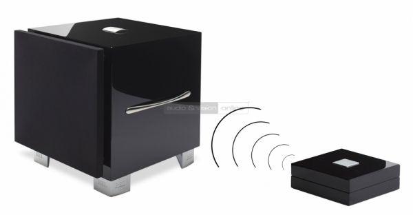 REL S/5 aktív mélyláda LongBow Wireless vezetéknélküli jelátvitel