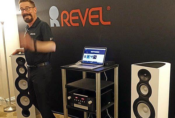 Revel Performa3 F208Be a CES 2017 kiállításon