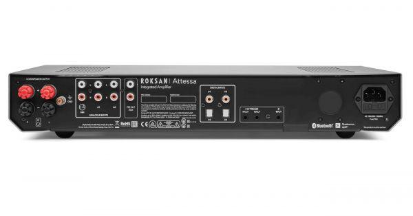 Roksan Attessa Integrated Amplifier hifi erősítő hátlap