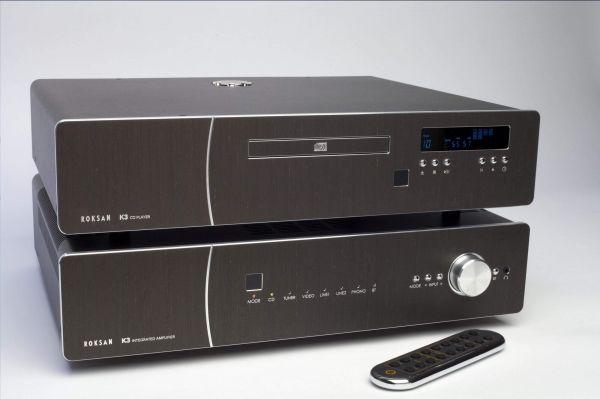 Roksan K3 sztereó erősítő és K3 CD Di CD-lejátszó