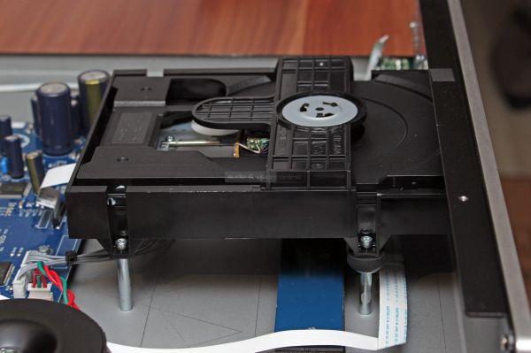 Roksan K3 CD Di CD-lejátszó belső