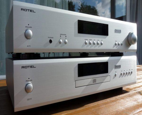 Rotel A11 Tribute és CD11 Tribute