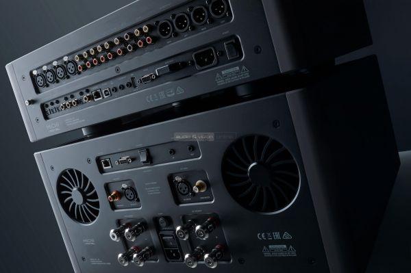 Rotel Michi P5 S5 high end sztereó előfok végerősítő hátlap