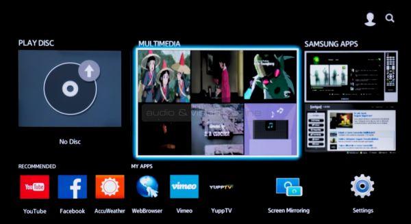Samsung BD-H6500 Blu-ray lejátszó
