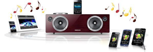 Samsung DA-E750 Android/iPhone csöves dokkoló hangrendszer ...