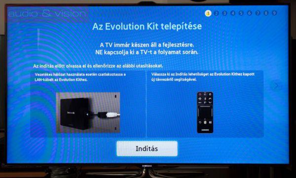 Samsung Evolution Kit telepítése