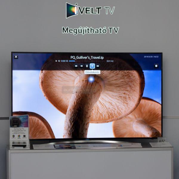 Samsung Forum 2014 megújítható TV