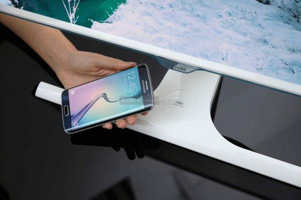 Samsung S27E370D telefon töltős monitor