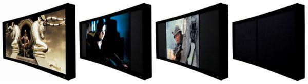 Screen Excellence maszkos projektor vászon