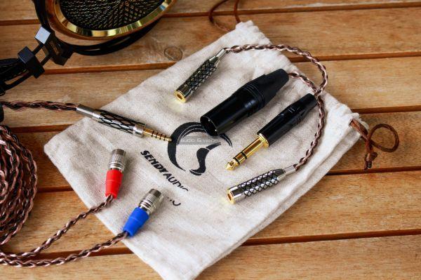 Sendy Audio Peacock high end fejhallgató kábel