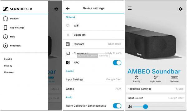 Sennheiser AMBEO Soundbar App