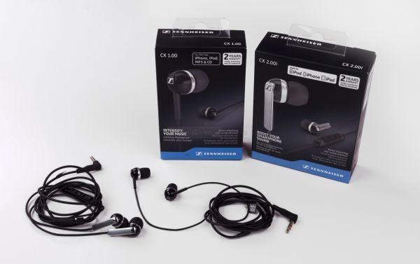 Sennheiser CX 1.00 és CX 2.00 fülhallgatók
