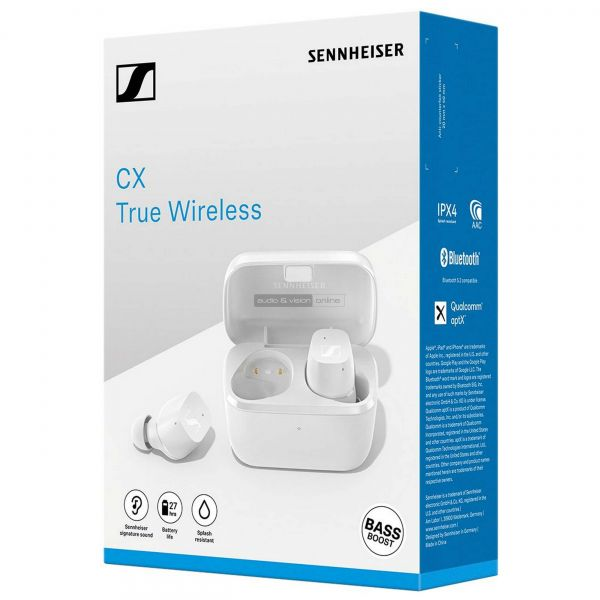 Sennheiser CX True Wireless TWS Bluetooth fülhallgató doboz