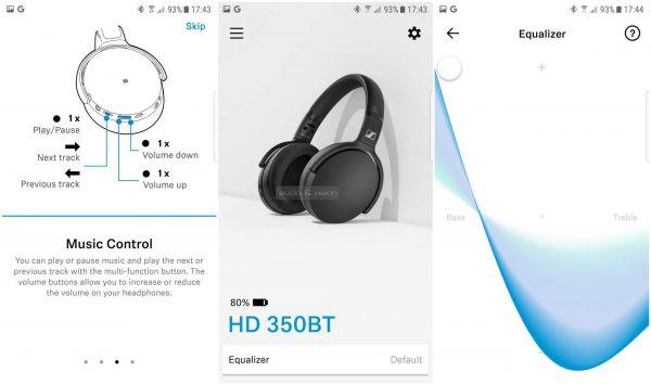 Sennheiser HD 350BT App