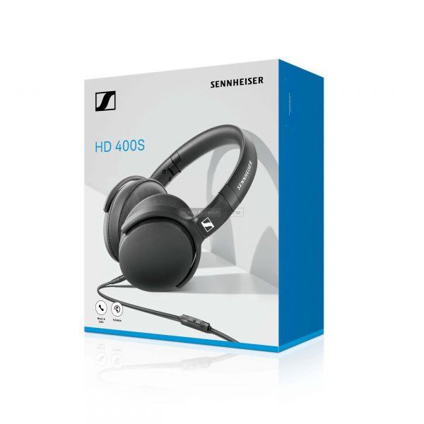 Sennhesiser HD 400S fejhallgató doboz