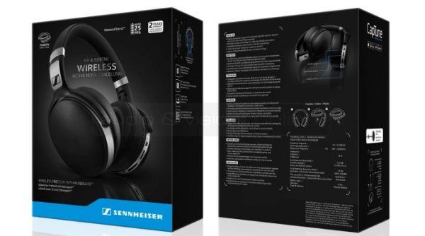 Sennheiser HD 4.50 BTNC aktív zajzáras Bluetooth fejhallgató doboz