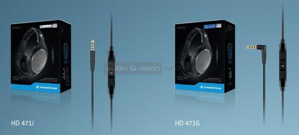 Sennheiser HD 471 fejhallgató mikrofonos kábel