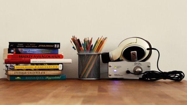 Sennheiser HD 599 hifi fejhallgató és ADL GT40 USB DAC