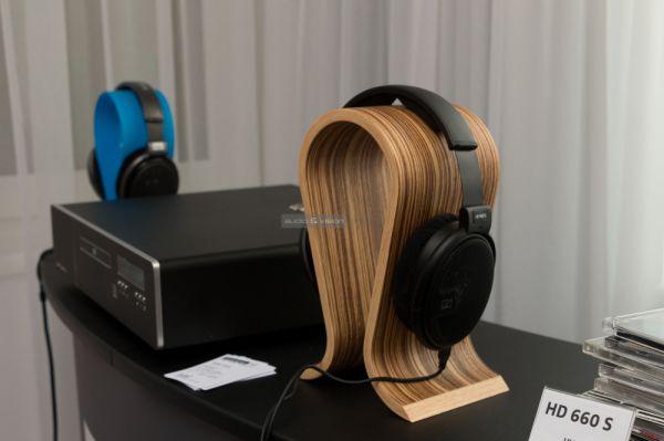 Sennheiser HD 660 S fejhallgató a KlangBilder kiállításon