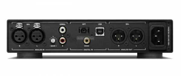 Sennheiser HDV 820 fejhallgató erősítő hátlap