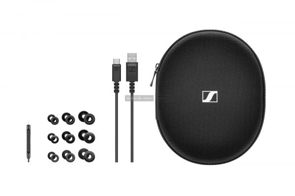 Sennheiser IE 80 S BT nyakpántos Bluetooth fülhallgató tartozékok
