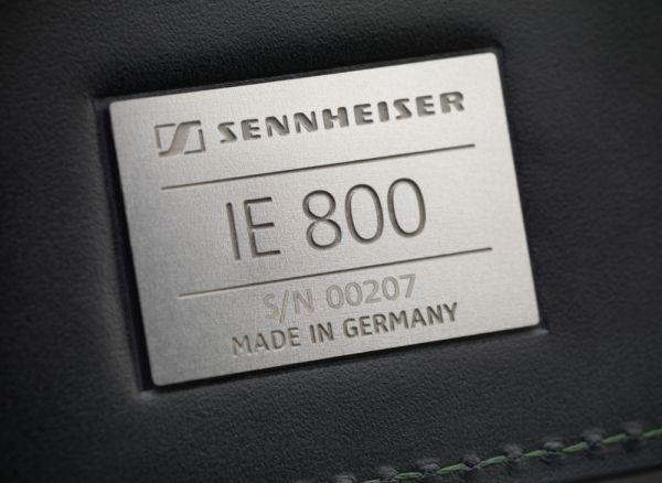 Sennheiser IE 800 high-end fülhallgató doboza