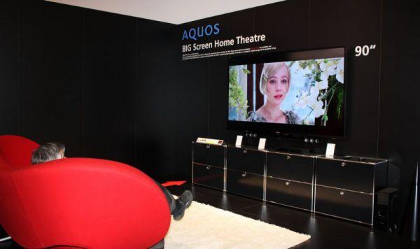 Sharp hangprojektor nagyméretű tévékhez IFA 2012