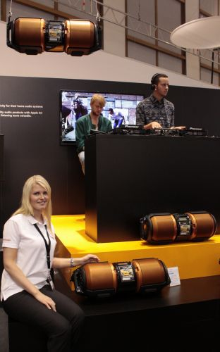 Sharp boombox IFA 2012