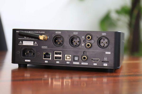 SMSL DP5 DAC hátlap