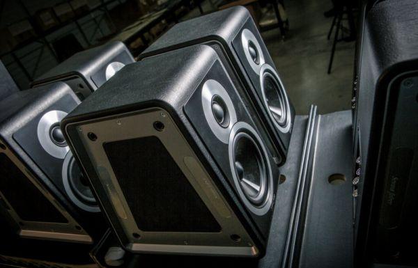 Sonus faber Chameleon hangfal gyártás