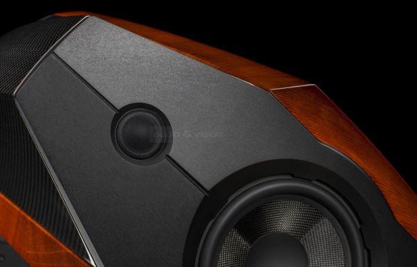 Sonus faber Extrema high end állványos hangfal hangszórói