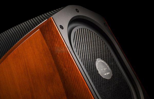 Sonus faber Extrema high end állványos hangfal mélysugárzó