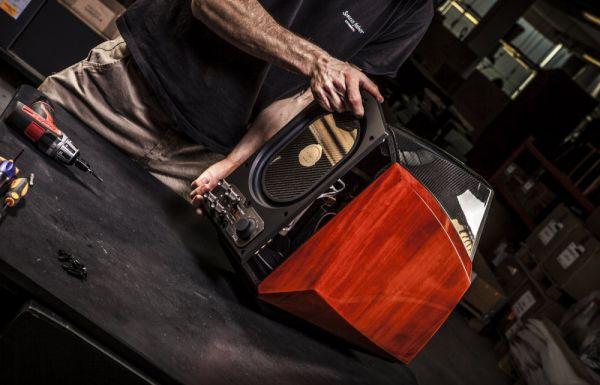 Így készült a Sonus faber Extrema high end hangfal