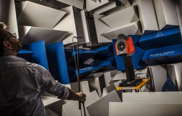 Így készült a Sonus faber Extrema high end hangfal - tesztelés