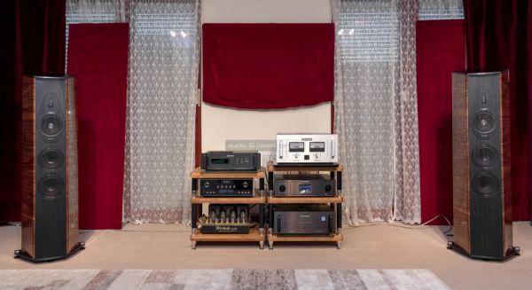 Sonus faber Il Cremonese hangfal az Audiophile Szalonban