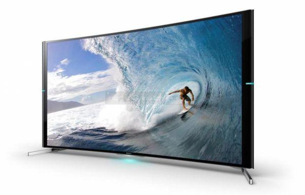 Sony KD-65S9000B ívelt 4K TV