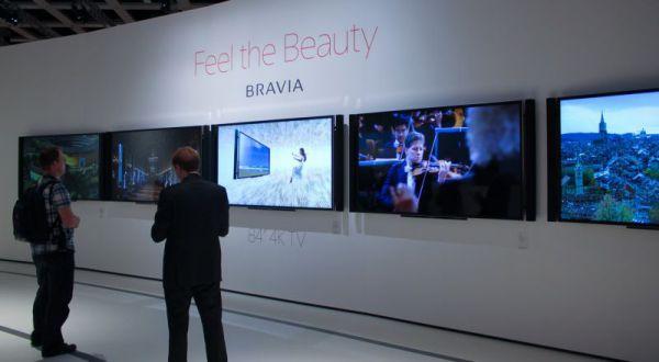 Sony BRAVIA 84 colos 4K TV IFA 2012