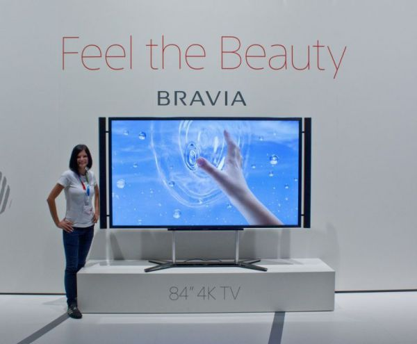 Sony BRAVIA 84 colos 4K TV IFA 2012