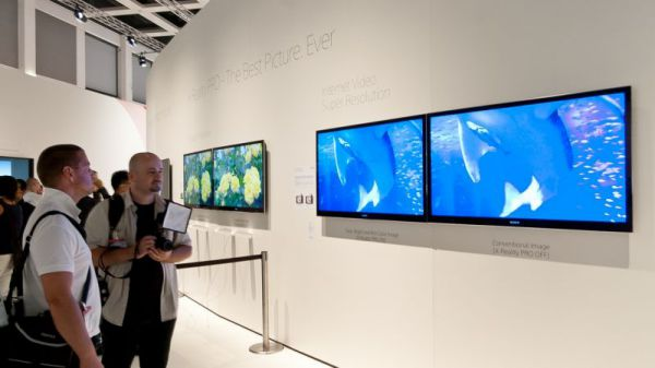 Sony Internet Video Super Resolution IFA 2012